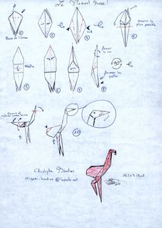 Flamingo... Instructions in French... This should be interesting...