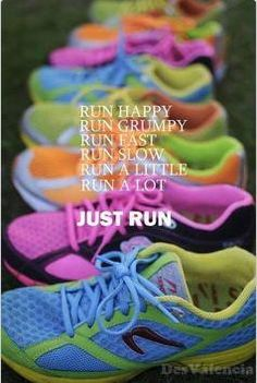If you're brave enough to run in bright neon shoes that are a throwback to the '80s, you can accomplish anything!
