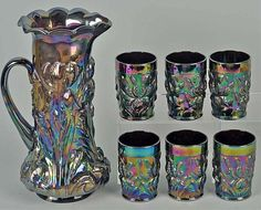 Carnival Glass Identification and Value Guide