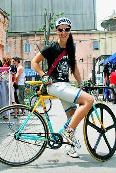 Cool bike, where's the gears.
