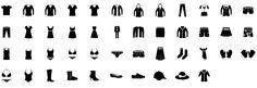 clothes-1-glyph-icons-preview