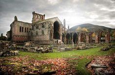 Melrose Abbey (Scotland)