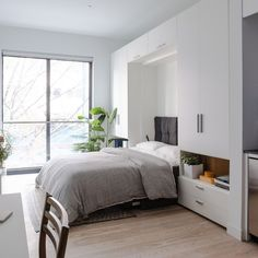 """A nice looking """"Murphy Bed"""""""