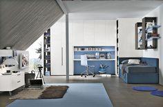 Composizione T06 con letto sistema Corner | Gruppo Tomasella