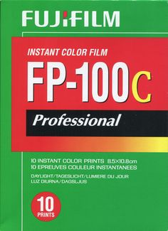 FP-100C for Polaroid Land Cameras by Fujifilm