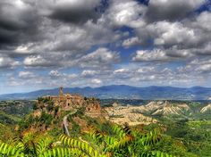 Civita di Bagnoregio, Province of Viterbo, Italy. Initially Civita was the first settlement established by Etruscans over 2 500 years ago, whereas Bagnoregio was its suburb The Beautiful Country, Beautiful World, Medieval, Walking Holiday, Under The Tuscan Sun, Italy Holidays, Italy Tours, Places Of Interest, Nature Images