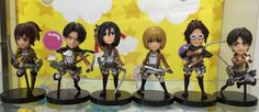7.60$  Buy here - http://aliw0t.shopchina.info/go.php?t=32806436133 - 6pcs/lot 8cm Attack on Titan Levi Rivaille Nendoroid Attack on Titan Levi PVC Action Figure Attack on Titan Anime Collectible Mo 7.60$ #magazineonlinebeautiful