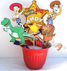 Toy Story Themed Party Centerpiece Sticks Set by ScrapsToRemember, $32.50