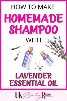 If you are looking for an essential oil for hair growth lavender is the best one to try! Lavender essential oil helps hair to grow thicker and faster.  If you are looking for recipes for homemade shampoo for growth, the lavender essential oil homemade shampoo is super easy to make!  All natural ingredients that would work for curly hair or for oily hair.  I will show you how to make the shampoo and the ingredients you will need. Lavender essential oil also works well with peppermint and… Essential Oils Uk, Homemade Essential Oils, Essential Oil Blends, Homemade Shampoo, Homemade Hair, Oily Hair, Hair Growth Oil, Printing Labels, Homemade Beauty Products