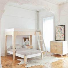 #kinderslaapkamer met natuurlijke materialen #slaapkamer
