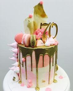 Hand Painted Wedding Cakes Melbourne