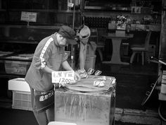 Hakkodate Fish Market in Hokkaido