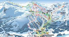 ❄⛷️ Updated Hemsedal piste map 2017/2018 - Click to see large version - #skiing