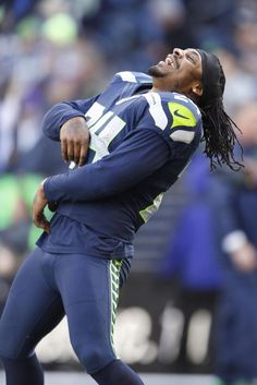 NFL divisional playoffs  NFL: Divisional Round-New Orleans Saints at Seattle Seahawks -- Jan 11, 2014; Seattle, WA, USA; Seattle Seahawks running back Marshawn Lynch (24) laughs before the 2013 NFC divisional playoff football game against the New Orleans Saints at CenturyLink Field. (Joe Nicholson-USA TODAY Sports)