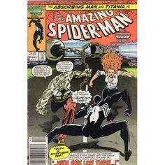 AMAZING SPIDER-MAN #283 | Marvel Comics | December 1986 | Absorbing Man | Titania