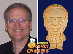 Retire in style with custom cookies by Parker's Crazy Cookies. They taste fabulous and are guaranteed to delight the man of the hour and all the guests at his retirement party.