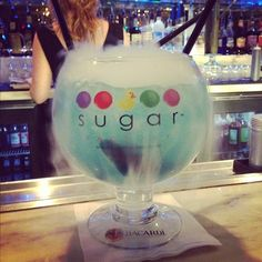 Sugar Factory in Las Vegas I love this place, so much candy...plus a great restaurant - Learn all about My First Hacked Travel Trip (to Las Vegas) and how I saved $1,023.88 http://travelnerdnici.com/first-hacked-travel-trip-las-vegas/ - Explore the World with Travel Nerd Nici, one Country at a Time. http://TravelNerdNici.com