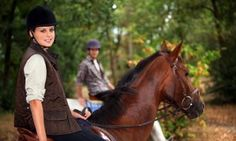 Trail or Pony Ride or One or Four Private Horseback-Riding Lessons at Black Creek Hill Farms (Up to Off) Trail Riding, Horse Riding, Riding Boots, Riding Stables, Equestrian Boots, Equestrian Outfits, Jester Park, Bordeaux, Horseback Riding Lessons