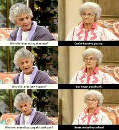 One of my favorite Dorothy - Sophia exchanges