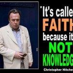 It's called faith