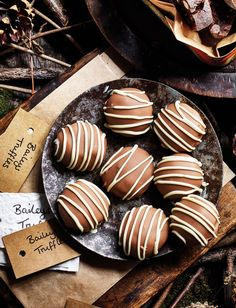 Treat friends and family to our luxurious Baileys cheesecake truffles recipe for an easy and thoughtful edible Christmas gift