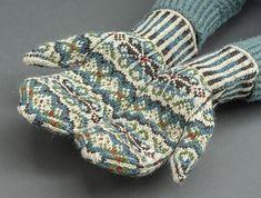 Ravelry: Tettegouche Mittens pattern by Virginia Sattler-Reimer