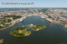 Helsinki, Etelä-satama Ilmakuva: Lentokuva Vallas Oy