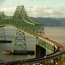 Bridge over the Columbia River, Astoria - Oregon...  4.1 miles long