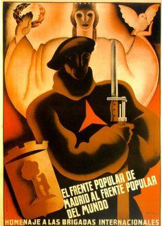 .Homenaje a las Brigadas Internacionales