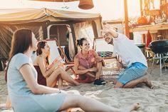 Stock Photo : Summer camping