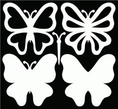 Free butterfly SVG files and a great sample card on the page.
