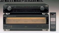 SU-C909 Stereo Control Amplifier SE-A909 Stereo Power Amplifier