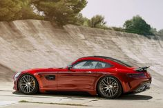 The Mercedes-AMG GT is Mercedes's replaced for the iconic SLS AMG, which debuted back in 2010 and discontinued earlier this year. Description from zerotohundred.com. I searched for this on bing.com/images