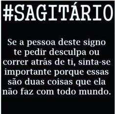 Verdade!! Hand Lettering, Astrology, Zodiac Signs, Humor, Feelings, Quotes, Words, Zodiac Signs Sagittarius, Sagittarius Zodiac
