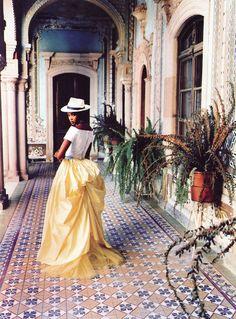 Naomi Campbell by Ellen von Unwerth