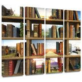 Found it at Wayfair - 'Story World' by Cynthia Decker 4 Piece Graphic Art Gallery-Wrapped on Canvas Set