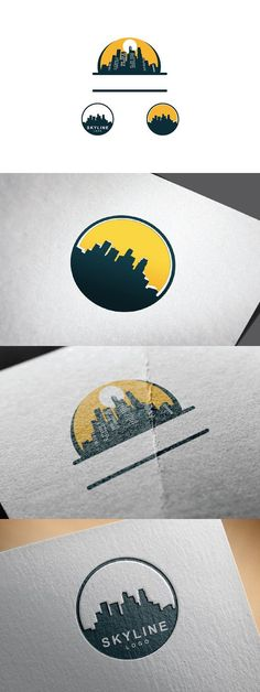 City Building Skyline Logo This design is suitable for companies / product in the sector of business / financial, travel, real estate, etc. Skyline Logo, Liverpool Skyline, Property Design, Design Inspiration, Design Ideas, City Buildings, Vector File, Background Images, Service Design