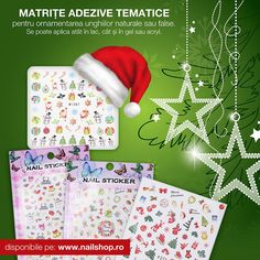 #new #nailsticker #christmasstickers #nailart #2mbeauty #nailshop Nail Shop, Christmas Stickers, Nail Stickers, Facial Tissue, Nailart, Gift Wrapping, Trends, Gifts, Fashion