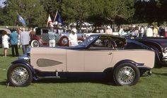 1929 Auburn Cabin Speedster Show Car