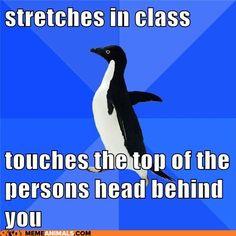 How very awkward.....