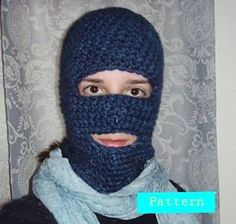 Don't Turn Blue Basic Ski Mask: Free #crochet and #knit balaclava patterns to keep you warm this winter!