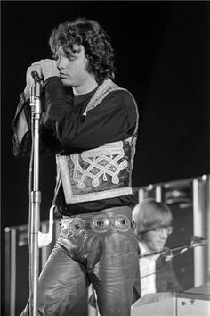 Jim Morrison, Hollywood Bowl, Los Angeles, California, 1968. Henry Diltz Photography