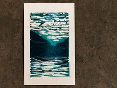 Linocut Prints, Art Prints, Large Canvas Tote Bags, Hand Carved, I Shop, Carving, The Originals, Painting, Etsy Shop