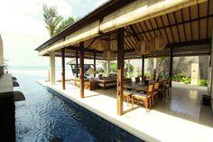 Feel the cool Balinese breeze at Puri Saanti, the stunning 3 bedroom villa of Anapuri Villas. www.anapurivillas.com
