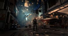 ArtStation - DEUS EX: Mankind Divided | Golem City, David Chan