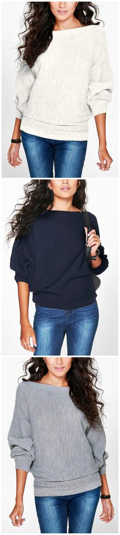 Long Sleeves Loose Jumper
