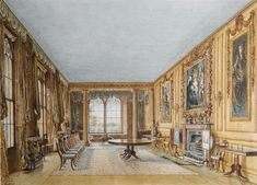 Dining Room, Cassiobury | William Henry Hunt | 1831
