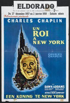 A King in New York (Charles Chaplin, 1957) Belgian design