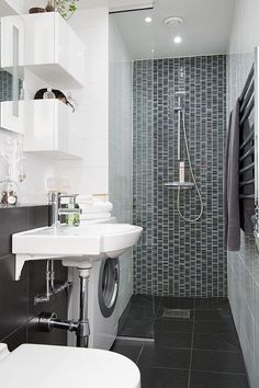 Laundry with Bathroom Combinations