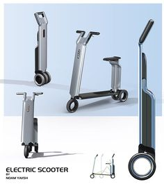 electric scooter on Industrial Design Served
